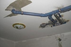 Verlegen von Rohr & Wasserleitungen