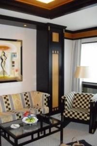 Die Raumgestaltung in einem Hotel gehört auch zu den Tätigkeiten des Raumausstatters